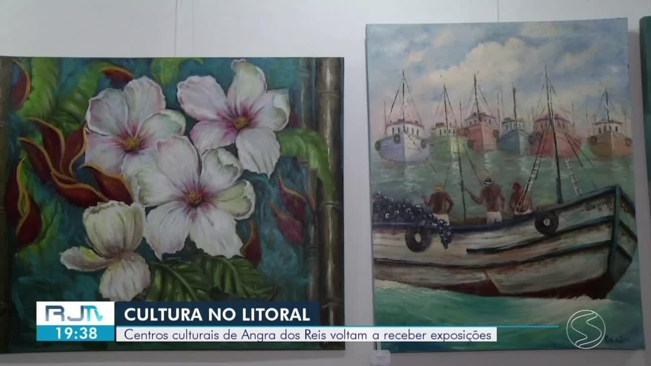 Centros culturais de Angra dos Reis voltam a receber exposições