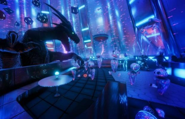 TheWaveVR, festival de música em ambiente de realidade virtual (Foto: Reprodução Facebook)