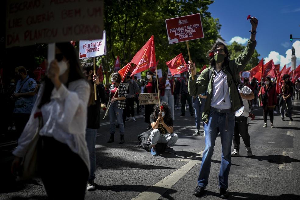 Em 2020, o evento havia sido cancelado por causa da pandemia — Foto: PATRICIA DE MELO MOREIRA / AFP