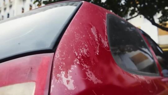 AutoEsporte dá dicas sobre como tirar manchas de chuva ácida no carro