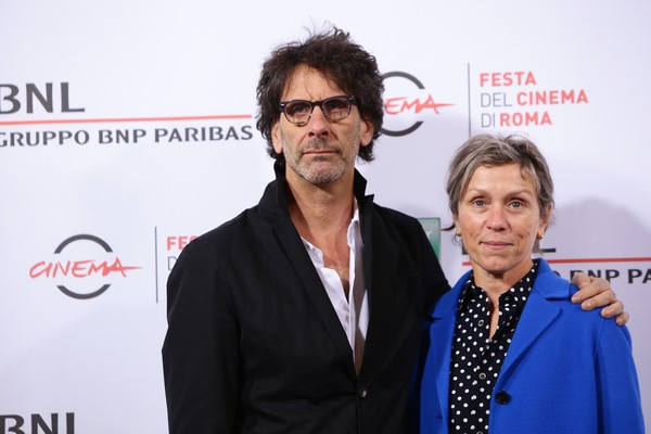 Frances McDormand e Joel Coen (Foto: Getty Images)