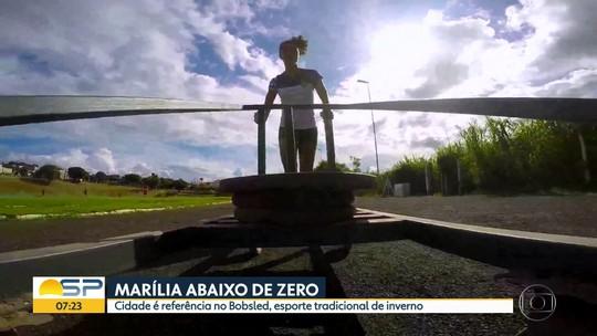 Longe do gelo, seleção brasileira de bobsled improvisa treino no interior de SP