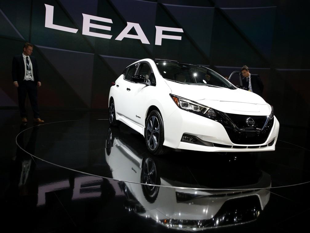Nissan Leaf, que deve ser vendido também no Brasil (Foto: Brendan McDermid/Reuters)