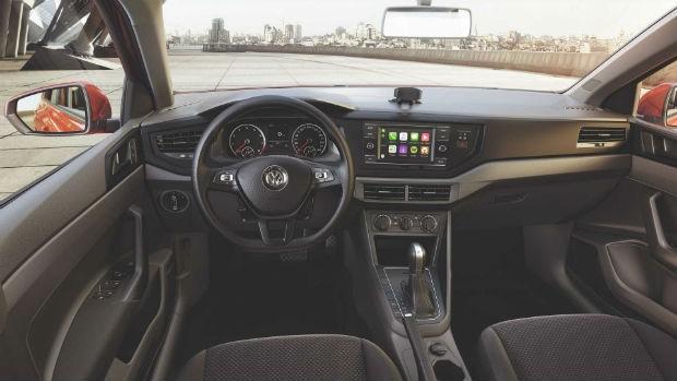 Volkswagen Virtus e Polo Sense para PCD interior (Foto: Divulgação)