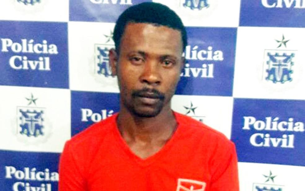 Homem foi preso suspeito de estuprar menina de 11 anos (Foto: Divulgação/Polícia Civil)