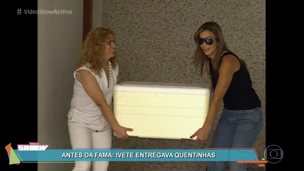Ivete Sangalo relembra época como entregadora de ... Ivete Sangalo Antes Da Fama
