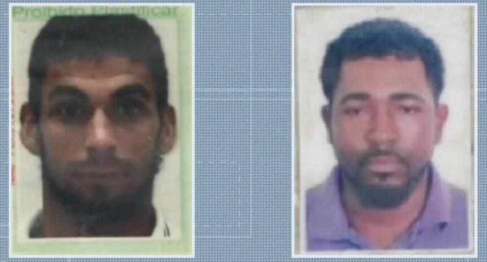 Bombeiros encontram corpos que podem ser de pescadores que desapareceram no Rio Jequitinhonha, no sul da Bahia — Foto: Reprodução/TV Bahia