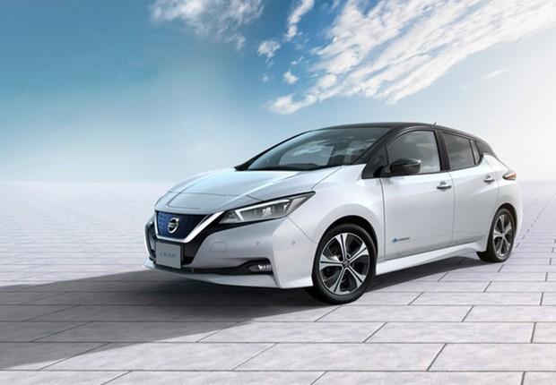 Nissan Leaf, o carro 100% elétrico da Nissan (Foto: Divulgação/Nissan)