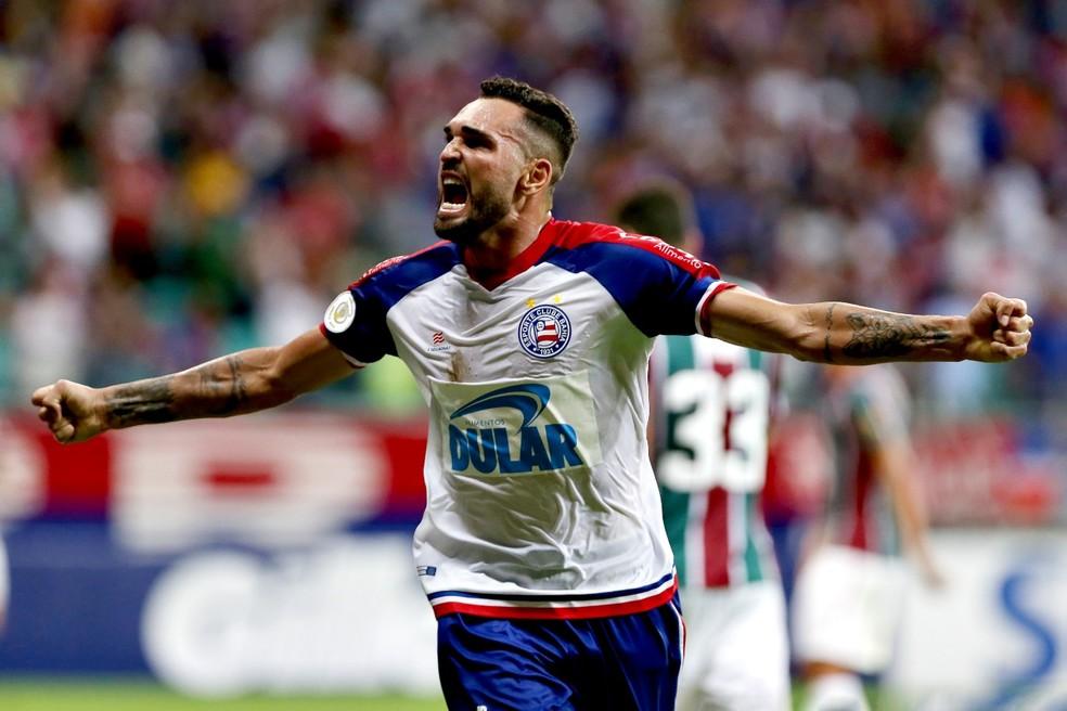 Atacante do Bahia tem 22 gols em 37 jogos em 2019 — Foto: Felipe Oliveira/Divulgação/E.C. Bahia
