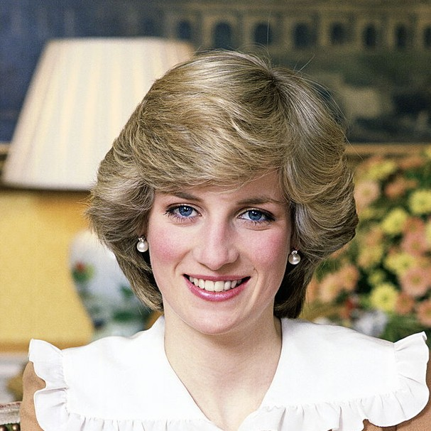 LONDON, UNITED KINGDOM - FEBRUARY 01:  Portrait Of Princess Diana At Her Home In Kensington Palace  (Photo by Tim Graham Photo Library via Getty Images) (Foto: Tim Graham Photo Library via Get)