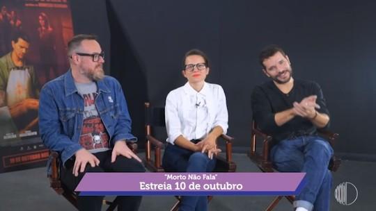 'Mais Diário' mostra a coletiva de imprensa do filme 'Morto não Fala'