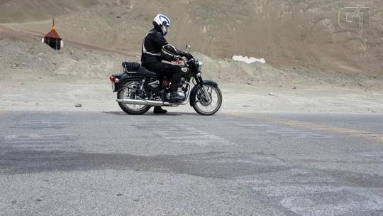 Moto desligada 'sobe ladeira' no Himalaia; entenda o fenômeno