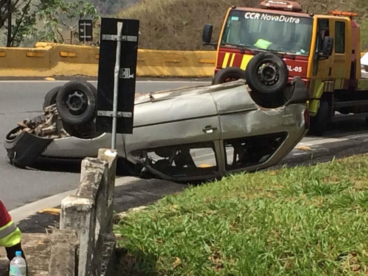 Acidente na Serra das Araras deixa três feridos em Piraí, RJ