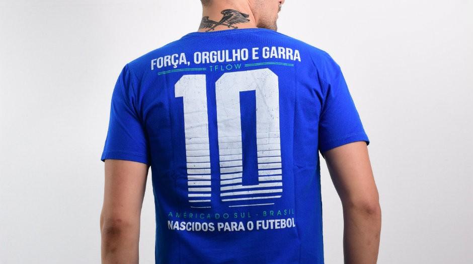 Camisetas personalizadas para a Copa do Mundo da Rússia (Foto: Divulgação)
