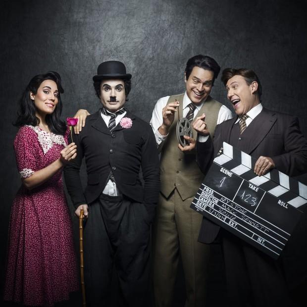 O elenco de Chaplin, o Musical (Foto: Divulgação / Pedro Dimitrow)