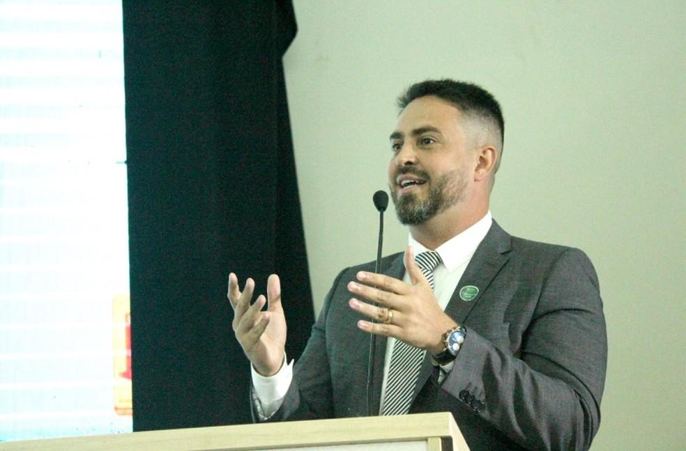 Léo Moraes foi o deputado federal eleito mais votado. — Foto: Mayara Subtil/G1