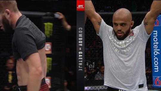 Melhores Momentos de Cole Smith x Miles Johns no UFC Vancouver
