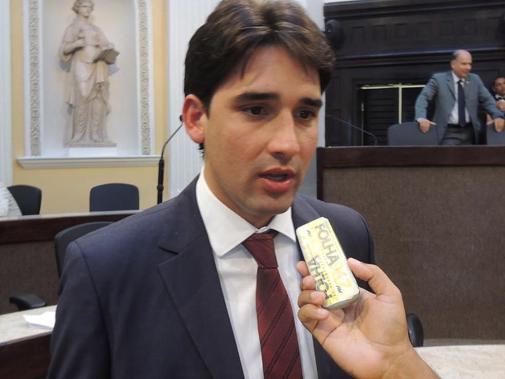 Deputado federal Silvio Costa Filho (PRB)  — Foto: Luna Markman/G1