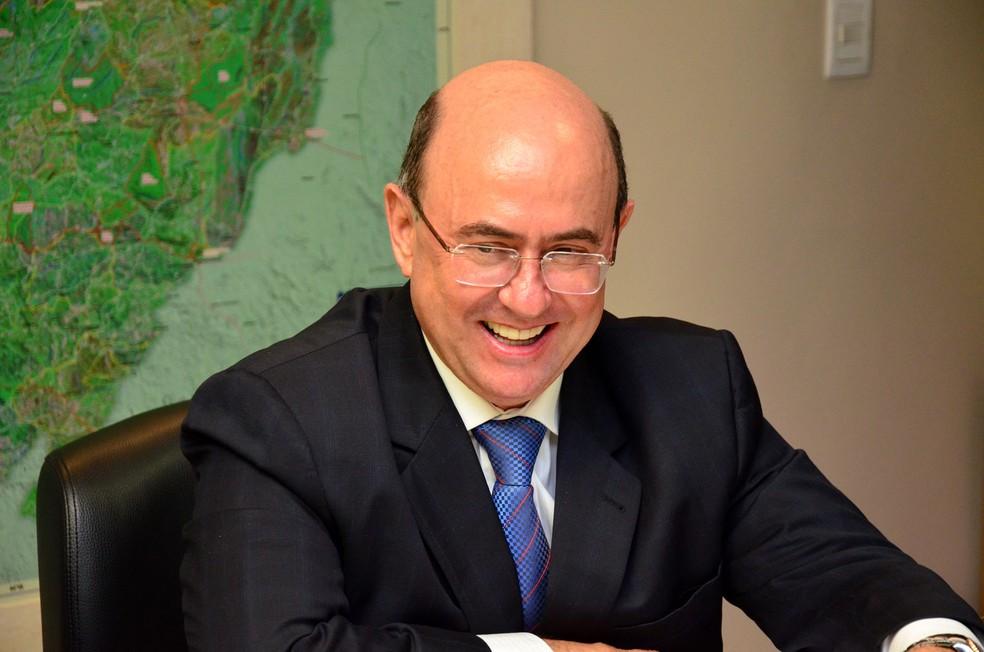José Riva foi deputado estadual e condenado a devolver dinheiro aos cofres públicos (Foto: ALMT/Divulgação)