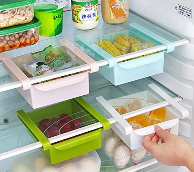 Conte com a praticidade de minigavetas para estocar alimentos (Foto: Amazon/ Reprodução)