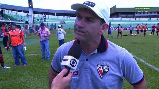 Tencati coloca Dragão na briga e aponta clássico contra o Goiás como decisivo