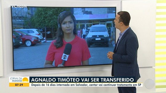 Cantor Agnaldo Timóteo pode ser transferido de Salvador para São Paulo