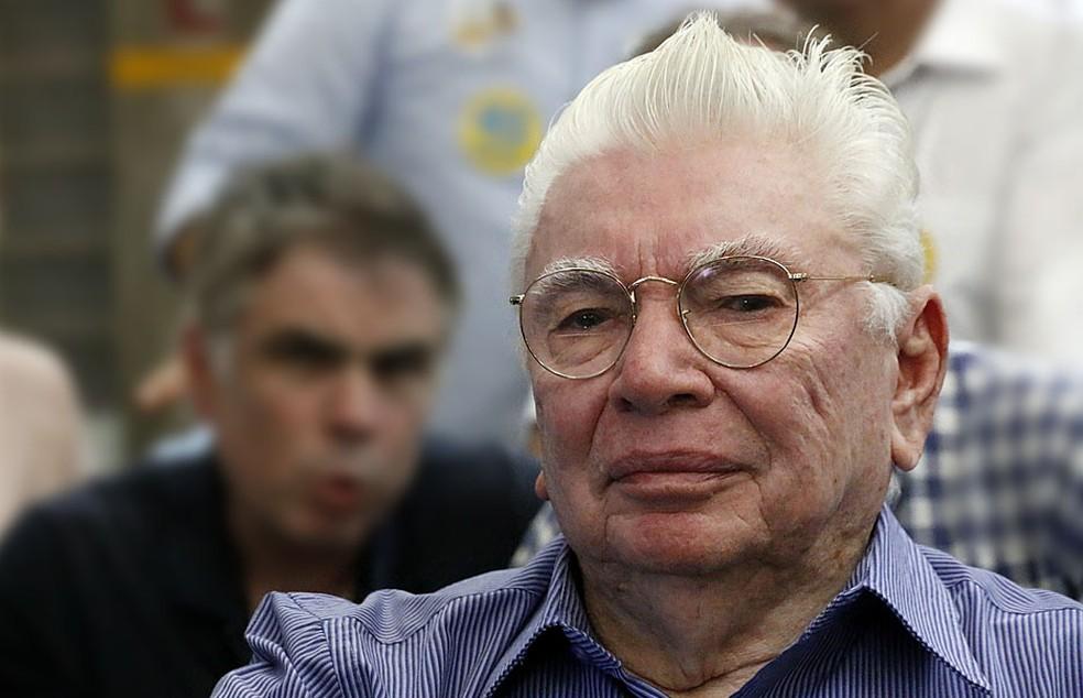Nevaldo Rocha morreus aos 91 anos, em Natal — Foto: Canindé Soares