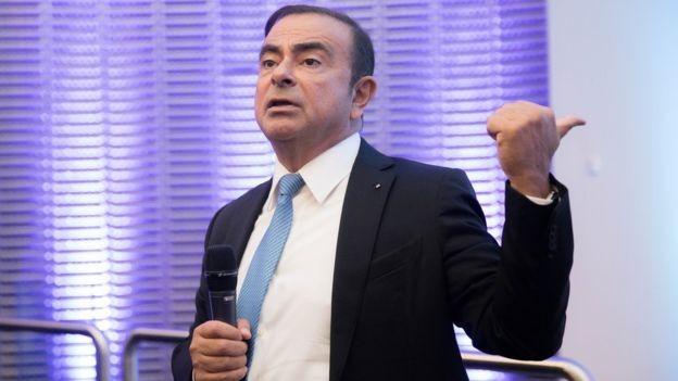 Ghosn também é presidente e diretor-executivo da Renault e da Mitsubishi Motors (Foto: Getty Images via BBC News Brasil)