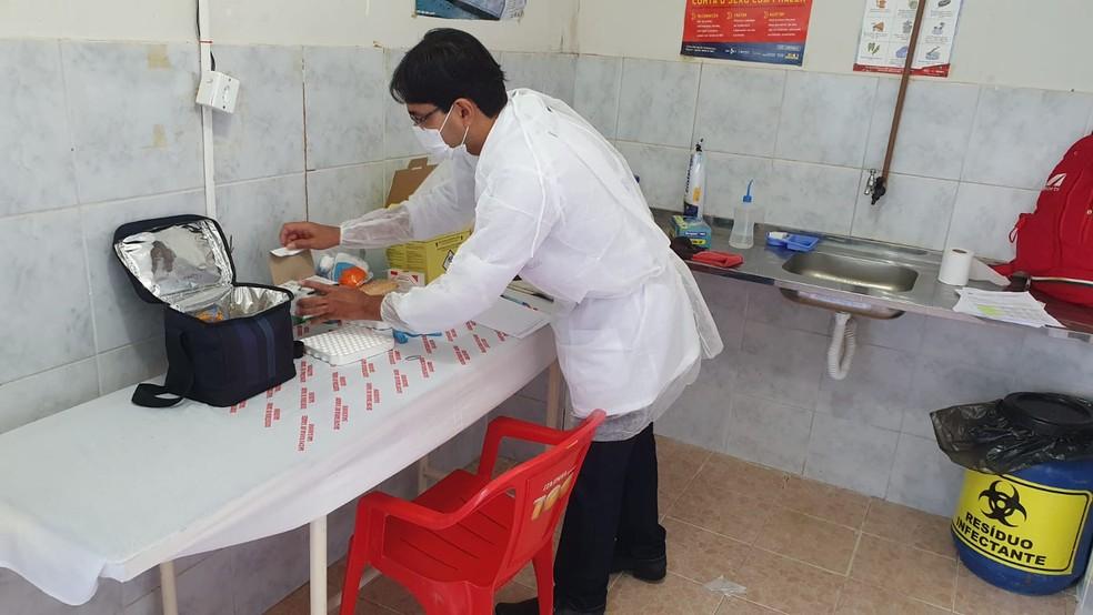 Salgueiro realizou 52 testes  — Foto: SAC / Divulgação