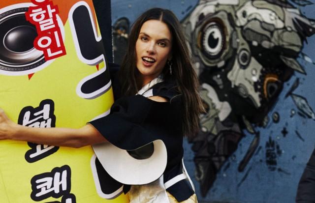 Alessandra Ambrosio é a cover-girl de maio (Foto: Reprodução)