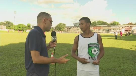 """André recebe prêmio de gol mais bonito do Campeonato Acreano 2019: """"Motivação"""""""