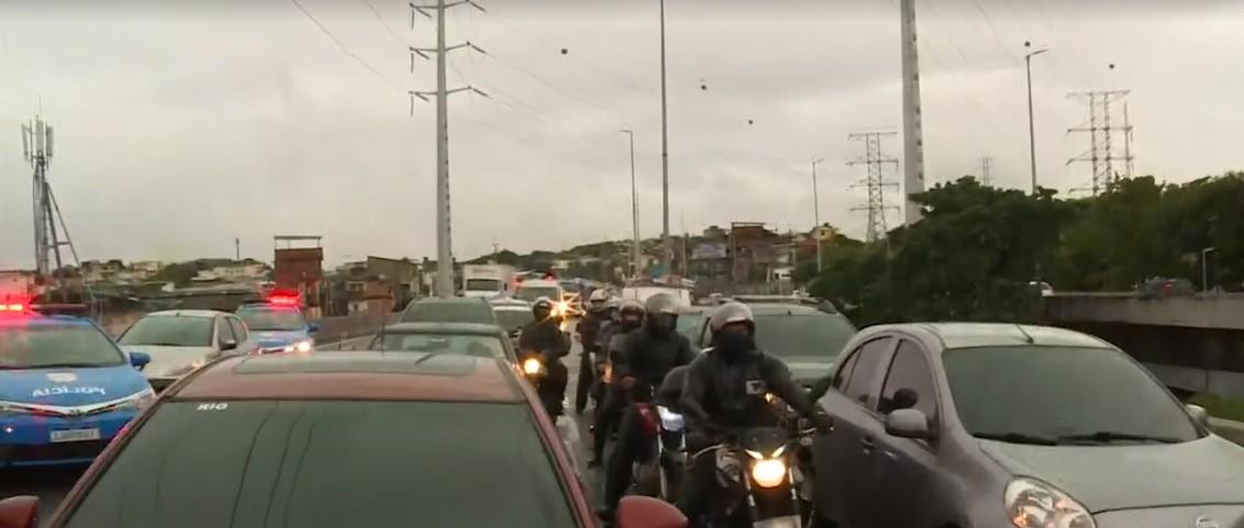 Acidente na Linha Amarela congestiona trânsito na manhã desta quinta-feira no Rio