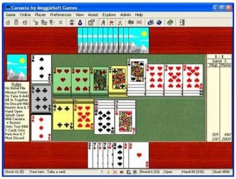 Canasta Kartenspiel Download