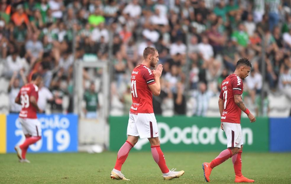 Pedro Lucas fez o primeiro gol pelo Inter — Foto: Ricardo Duarte/Divulgação Inter