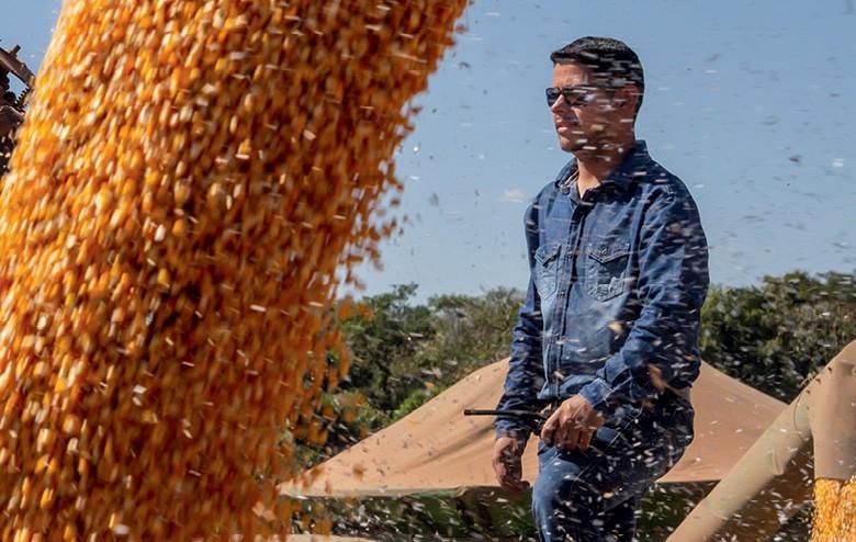 Etanol valoriza o milho em MT - Leandro Fernandes, da  Ideal Agro (Foto: Rogerio Albuquerque)