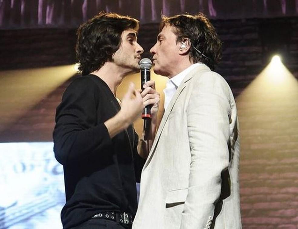 Fiuk e Fábio Jr. — Foto: Reprodução/Instagram