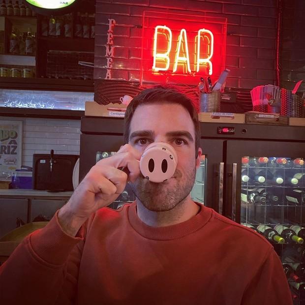 Zachary Quinto (Foto: Reprodução/Instagram)