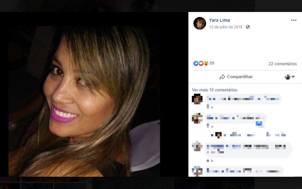 Iara Lima Oliveira, 32 anos — Foto: Reprodução/Redes Sociais