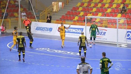 De virada, Sorocaba goleia a Assoeva e mantém liderança da Liga Nacional de Futsal
