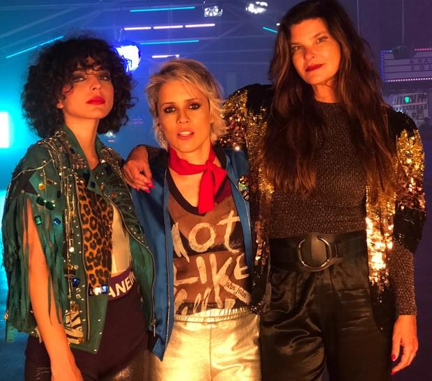 Julia Konrad, Dani Vellocet e Cristiana Oliveira (Foto: Marcela Sanches/ Divulgação)