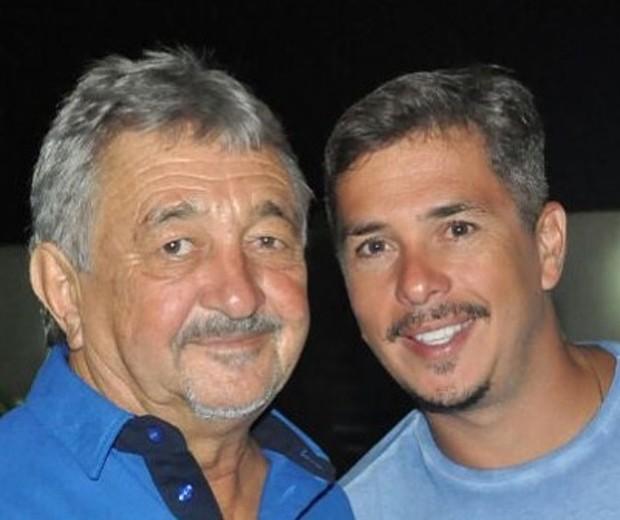 Ivan Moré e o pai (Foto: Reprodução/Instagram)