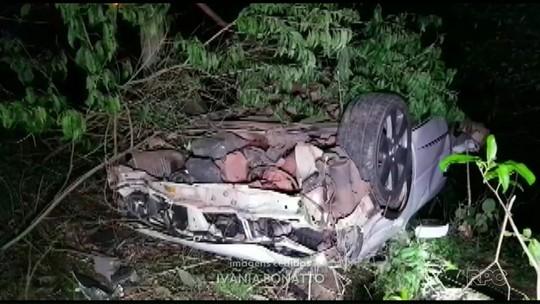 Irmãos morrem em acidente de trânsito na PR-471, em Enéas Marques