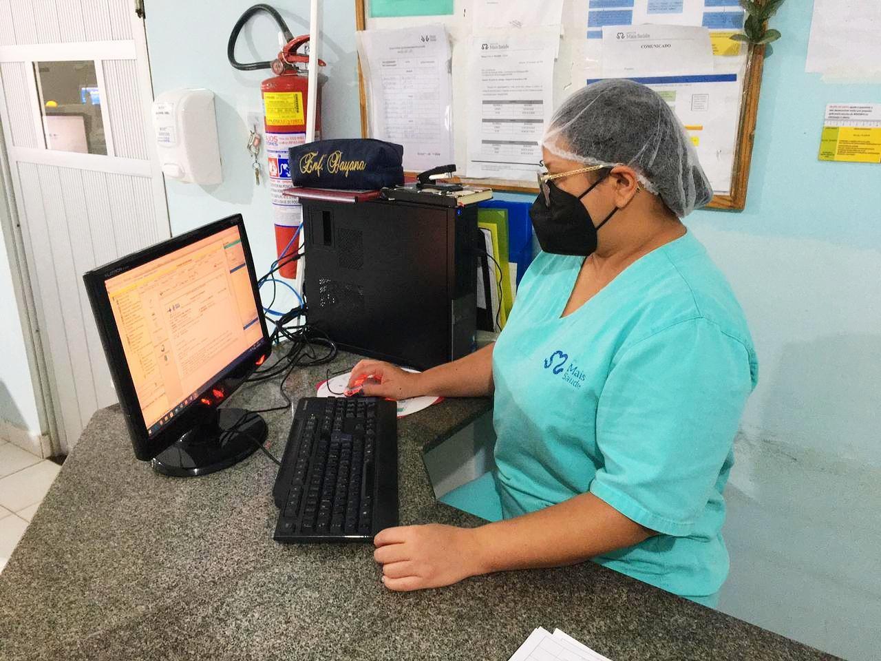 Prontuário eletrônico começa a ser implantado no HMS e na UPA 24h em Santarém, no PA