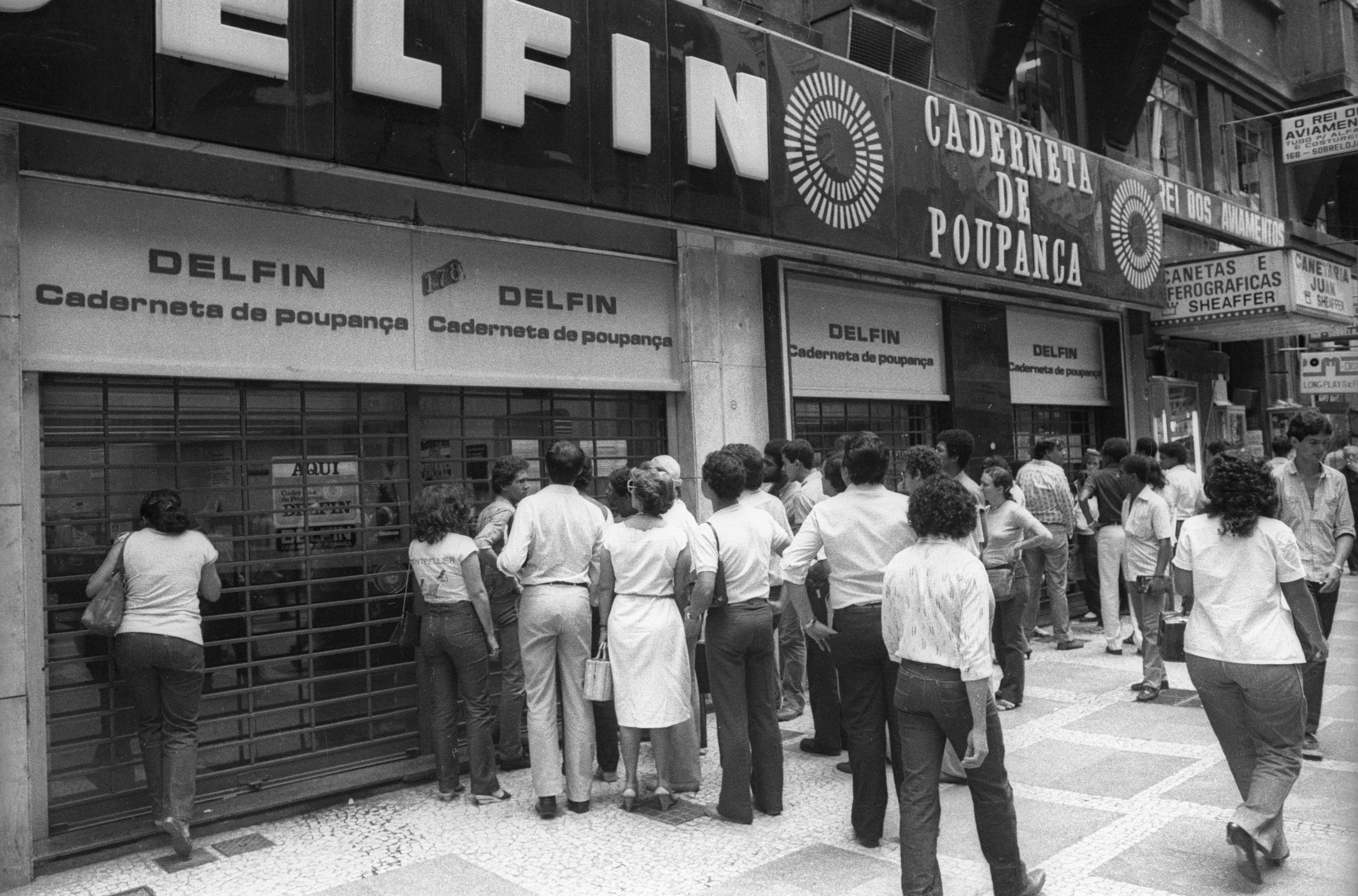 O antigo banco Delfin