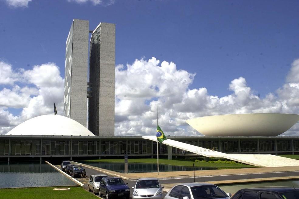 O Congresso Nacional, em Brasília — Foto: EBC