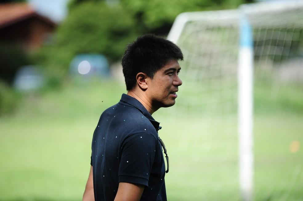Sandro Hiroshi em 2017 — Foto: Sanderson Barbarini / Foco no Esporte
