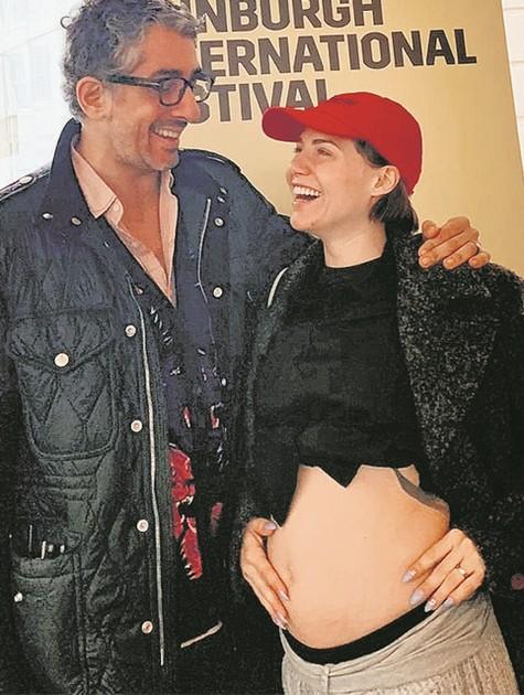 Michel Melamed e Leticia Colin (Foto: Arquivo pessoal)