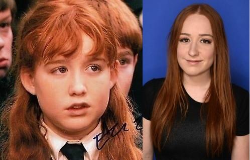 Eleanor Columbus em 2001 e 2014 (Foto: Reprodução)