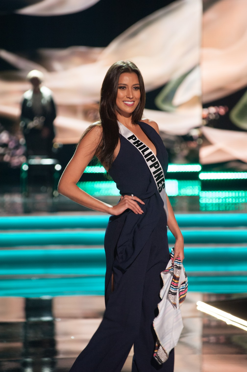 Rachel Peters, Miss Filipinas (Foto: Patrick Prather/Miss Universe Organization/AFP)