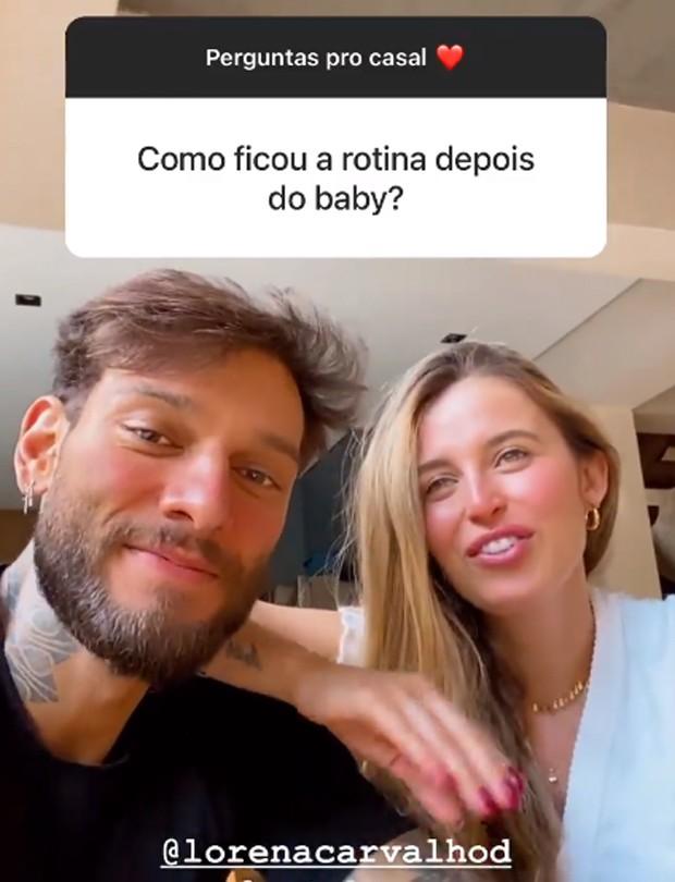 Lucas Lucco e Lorena Carvalho (Foto: Reprodução / Instagram)